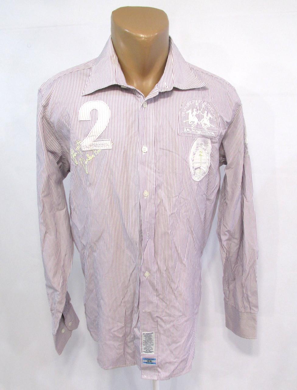 Рубашка La Martina, XL, Оригинальная, Хлопок, Как Новая!