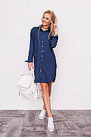 Джинсовое платье-рубашка 1040 LF