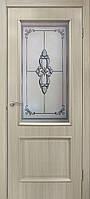 """Дверь межкомнатная """"Версаль СС+ФП""""  с фотопечатью, цвет дуб беленый"""