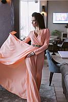 Шифоновое платье макси Цвета 369 ВН