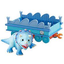 Динозаврик Тэнк с вагончиком из Поезда Динозавров TOMY