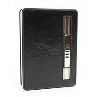 Портсигар з викидом сигарет і запальничкою (10х7х2 см)