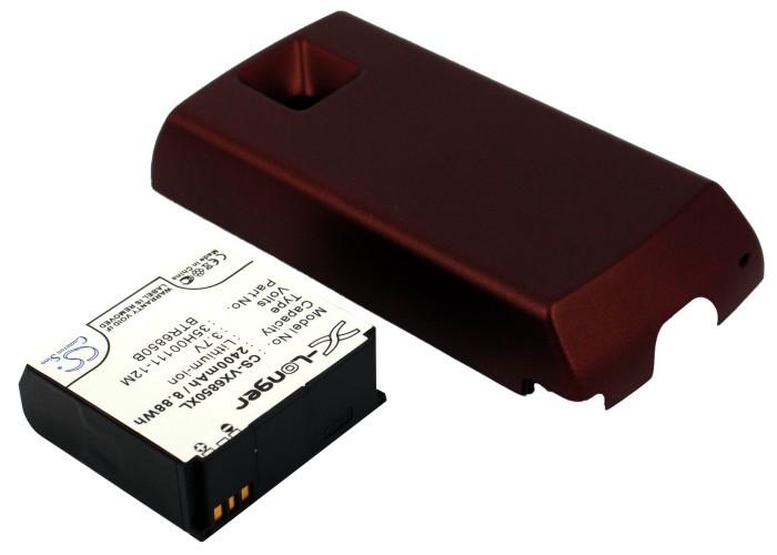 Аккумулятор для Verizon XV6850 2400 mAh