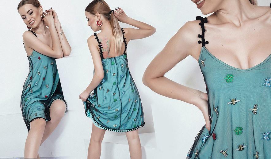 Платье Вышивка 3787