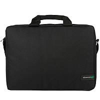 """Сумка для ноутбука 15.6"""" Grand-X SB-115, Black, ремень на плечо"""