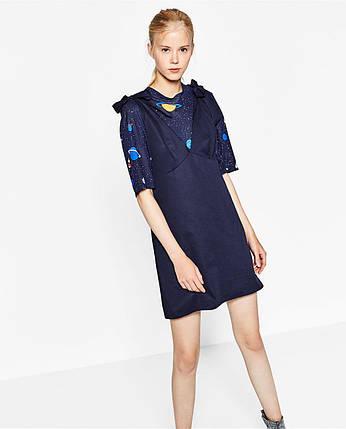 Новое платье / сарафан с красивыми плечами Zara, фото 2