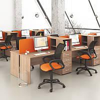 Стол письменный М116 (120 см) Мега Новый Стиль Бук баварский