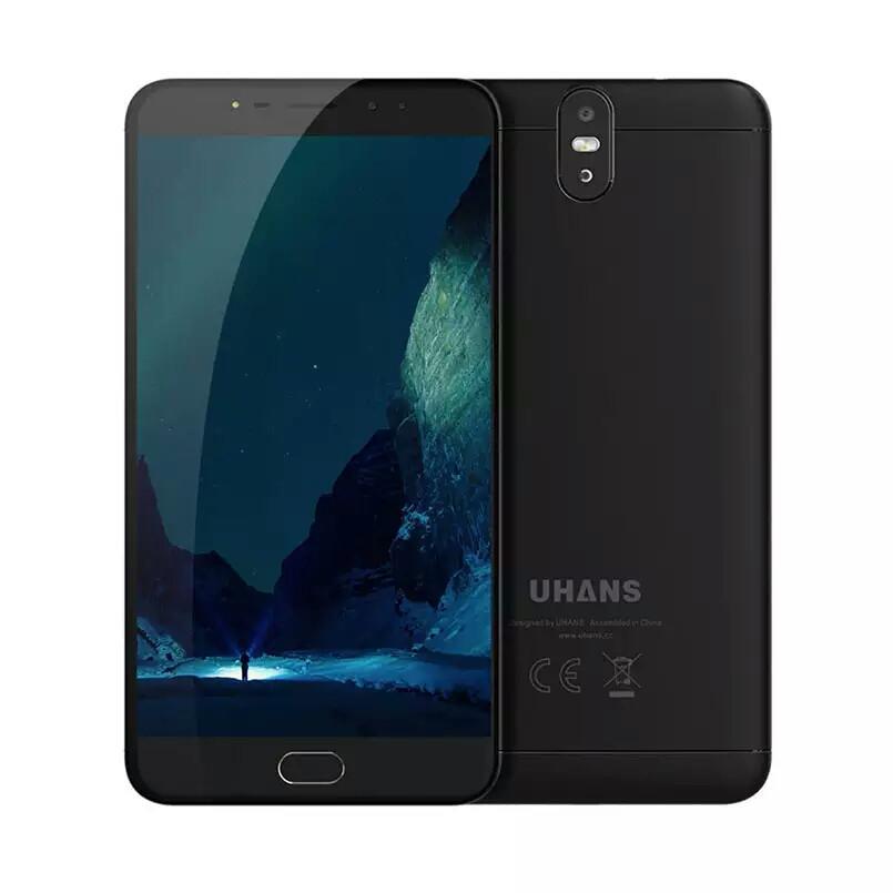 "Смартфон UHANS MAX 2 Black 6.44"" FHD 4/64ГБ 13+13Мп 4300мАч"