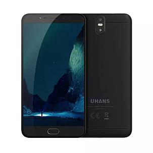 """Смартфон UHANS MAX 2 Black 6.44"""" FHD 4/64ГБ 13+13Мп 4300мАч, фото 2"""