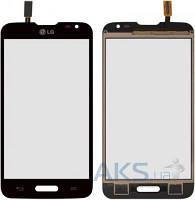 Сенсор (тачскрин) для LG L70 D320, L70 D321, L70 MS323 Black