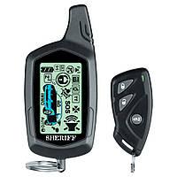 Автомобильная охранная система сигнализация SHERIFF ZX-750 двухсторонняя с обратной связью до 2км