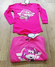 Трикотажный реглан для девочек Disney 2-8 лет