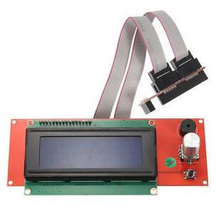 Модуль экрана 2004 с картридером SD карт и кабелем подключения, фото 2