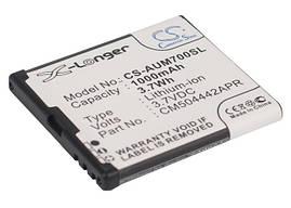 Аккумулятор для Amplicomms PowerTel M6900 1000 mAh