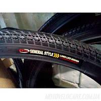 """Покрышка велосипедная без камеры елка 24х2.125 """"General Style"""""""