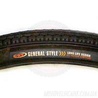 """Покрышка велосипедная без камеры 28х1.75 """"CST General"""""""