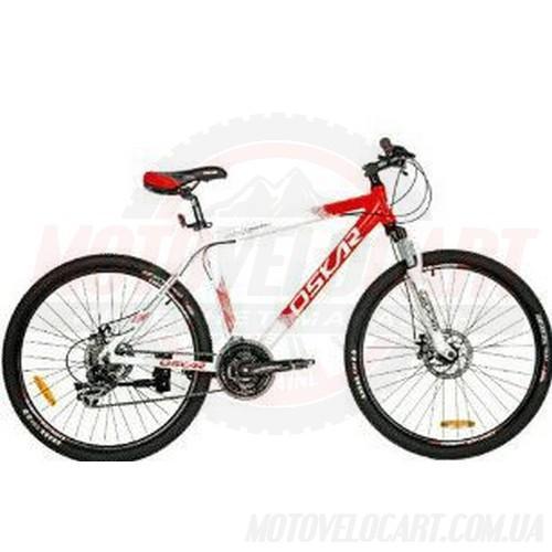 Велосипед OSKAR ATB 14105 красно-белый