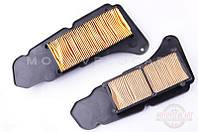 """Элемент воздушного фильтра   Yamaha MAJESTY 400   (левый , бумажная гармошка в пластике)   """"KM"""""""