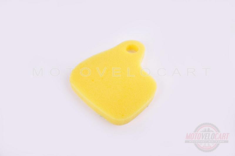 Элемент воздушного фильтра   Yamaha CHAMP   (поролон с пропиткой)   (желтый)