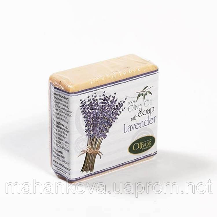 "Натуральное оливковое мыло Olivos Herbs&Fruits ""Лаванда"" Lavander 126 гр"