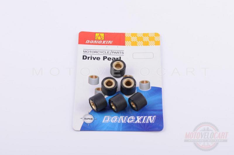 """Ролики вариатора   Honda   16*13   10,0г   (черные)   """"DONGXIN"""""""