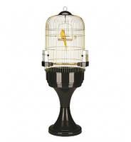 Круглая клетка на подставке Parrot Cage MAX 6 Antique Brass FERPLAST.D-53, H-160 см., фото 1