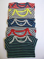 Яркие оригинальные хлопковые боди в полоску (Размер 9 мес) Carter's (США) поштучно