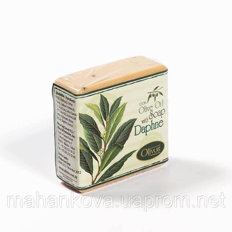 """Натуральное оливковое мыло Olivos Herbs&Fruits """"Лавровое"""" Daphne 126 гр"""