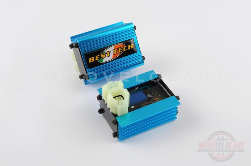 """Коммутатор (тюнинг)   4T GY6 50   (синий)   """"CASOLI"""""""