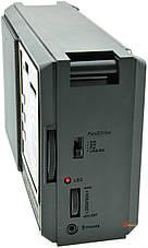 USB. Качественный FM радиоприемник, с мощным приемом,встроенным аккумулятором и поддержкой USB,Rx-9933s, фото 3
