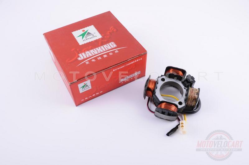 "Статор генератора   Suzuki AD50   (3+1 катушка)   ""JIANXING"""