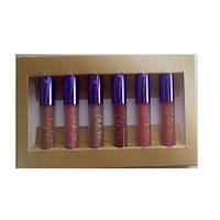 Набор матовых блесков для губ MAC Nicki Minaj Cremesheen Glass (палитра В)