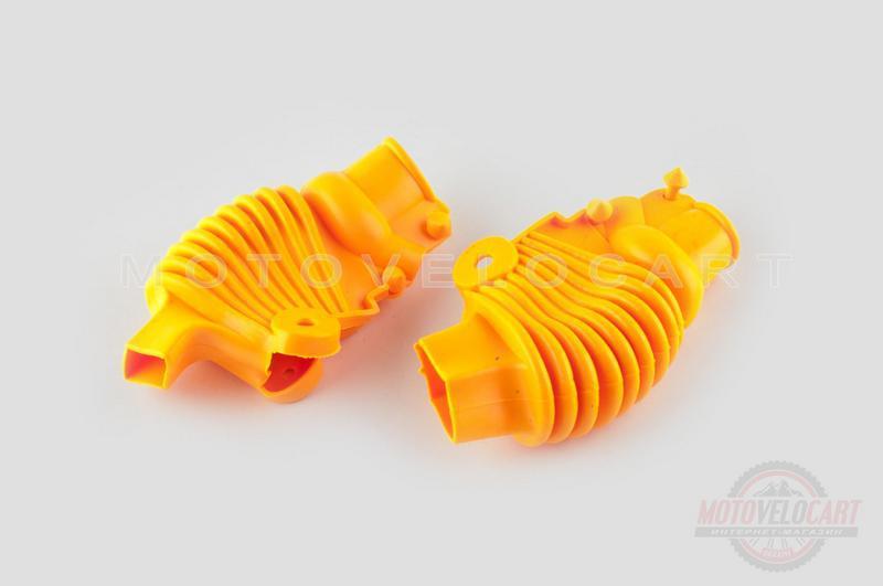 """Пыльники резиновые на ручки выжимные   (универсальные, желтые)   """"XJB"""""""