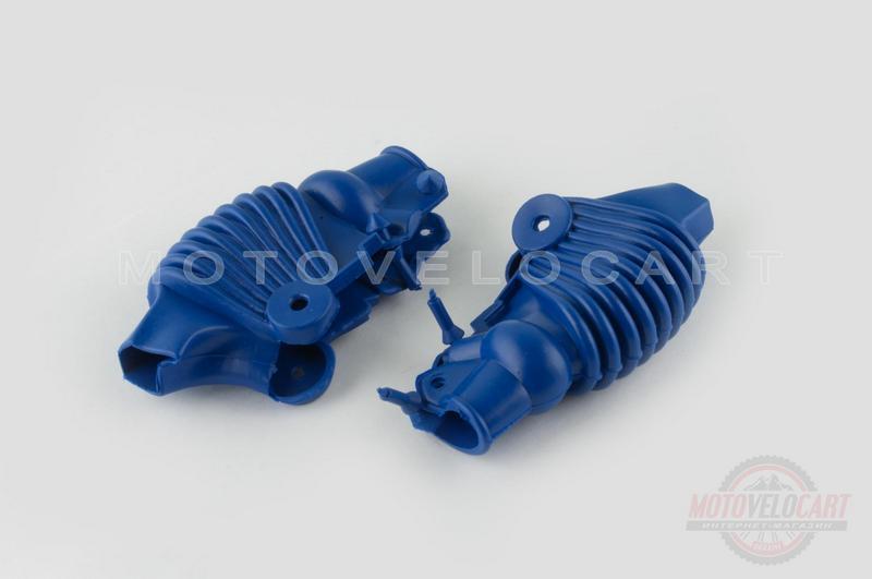 """Пыльники резиновые на ручки выжимные   (универсальные, синие)   """"XJB"""""""