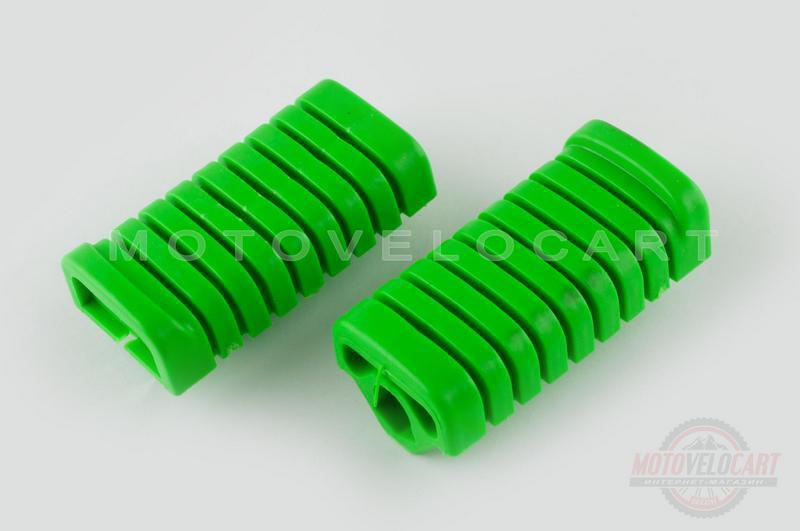 """Резинки подножек водителя   Delta   (зеленые)   """"XJB"""""""