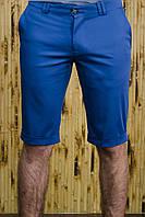 Шорты мужские синие стрейчевый котон , фото 1