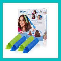 Волшебные спиральные бигуди для волос Hair Wavz!Хит цена