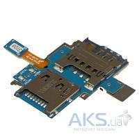 Шлейф для Samsung I9070 Galaxy S Advance с держателем SIM-карты Original