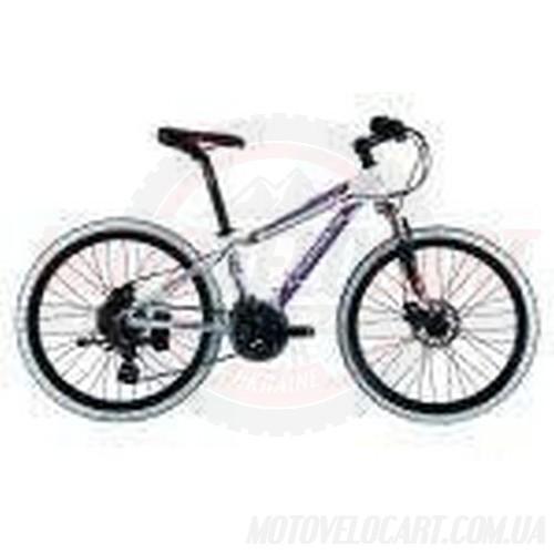 Велосипед CRONUS Carte-320 белый с черной вилкой