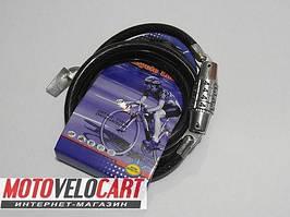 Велозамок кодовый 519 8mm-800mm