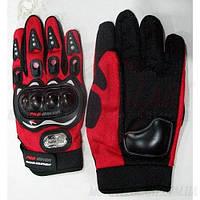 Перчатки pro-baiker под пальцы с защитой