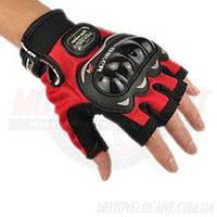 Перчатки pro-baiker с защитой