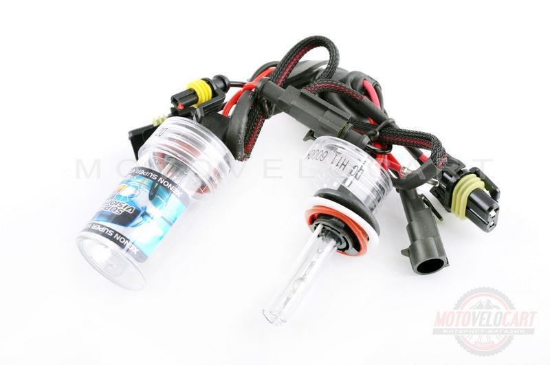 Лампы ксеноновые (пара)   H11 (12V 35W DC AMP)   4300K