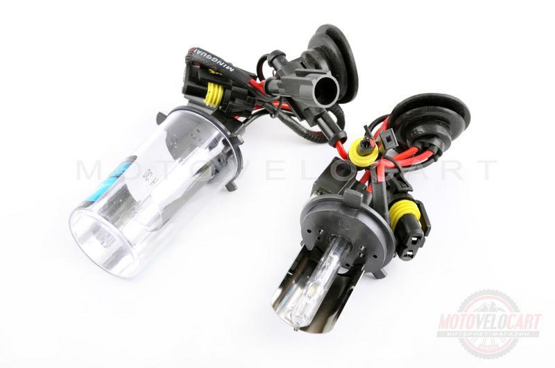 Лампы ксеноновые (пара)   H4 (12V 35W DC AMP)   6000K