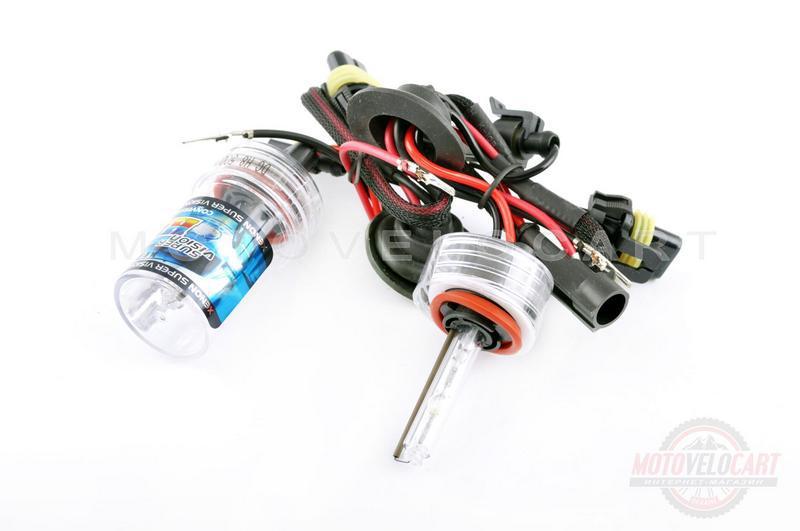 Лампы ксеноновые (пара)   H8 (12V 35W DC AMP)   6000K