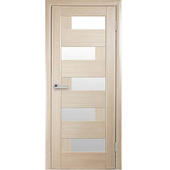 """Двери межкомнатные Пиана  (Ясень) стекло """"САТИН"""""""