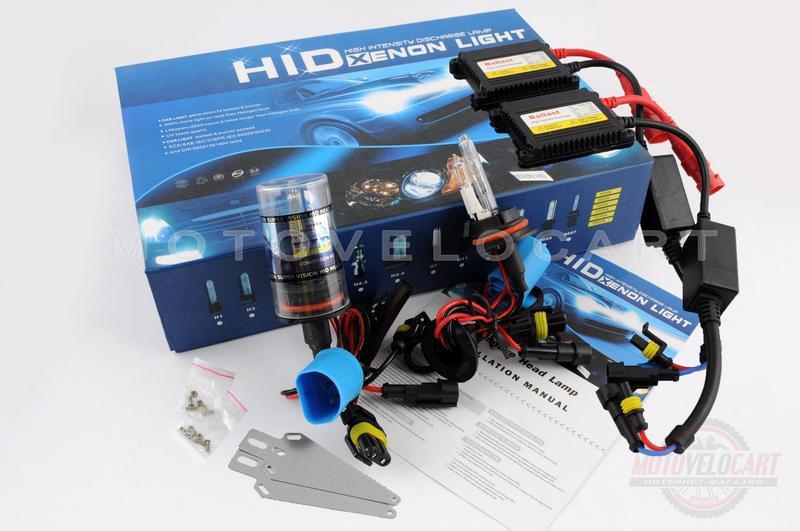 Ксенон (авто) HB1 (9004) DC 8000K 35W (+галоген) slim (арт:88)