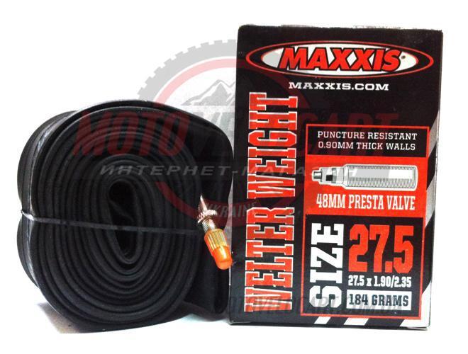 """Велосипедна Камера 27,5 x 1.90/2.35 (F. V 48mm) """"Maxxis"""""""