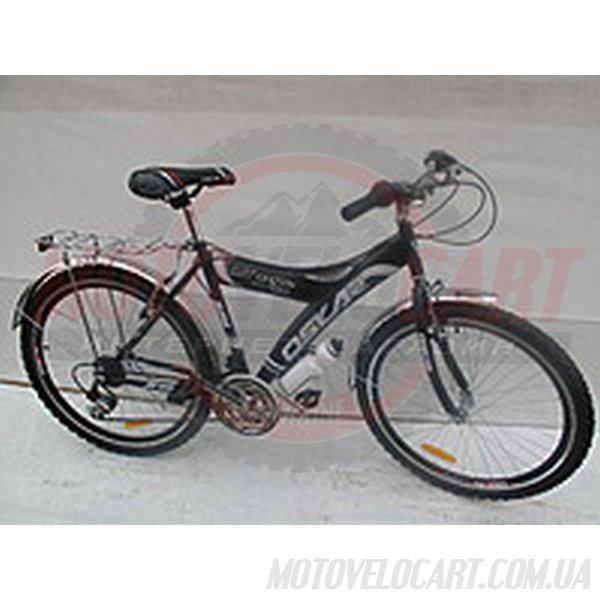 Велосипед OSKAR 26MY05SH ЧЕРНЫЙ