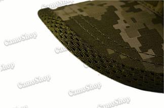 Бейсболка річна тактична з якісної 3D-сітки в класичному стилі (піксель), фото 2